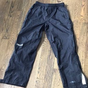 EUC Boys Marmot rain pants with elastic waist